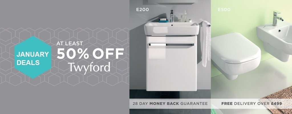 50% Off Twyford Energy Range