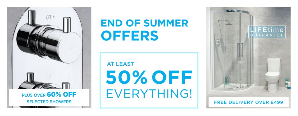 END OF SUMMER OFFERS