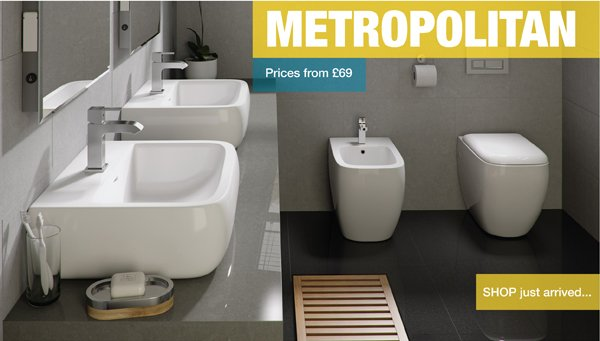 Metropolitan Bathroom Suite