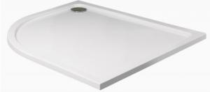 Slimline 1200x900 Offset Quadrant Shower Tray Left Handed