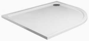 Slimline 1200x900 Offset Quadrant Shower Tray Right Handed