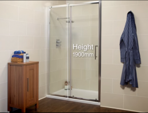 Measure your shower screen