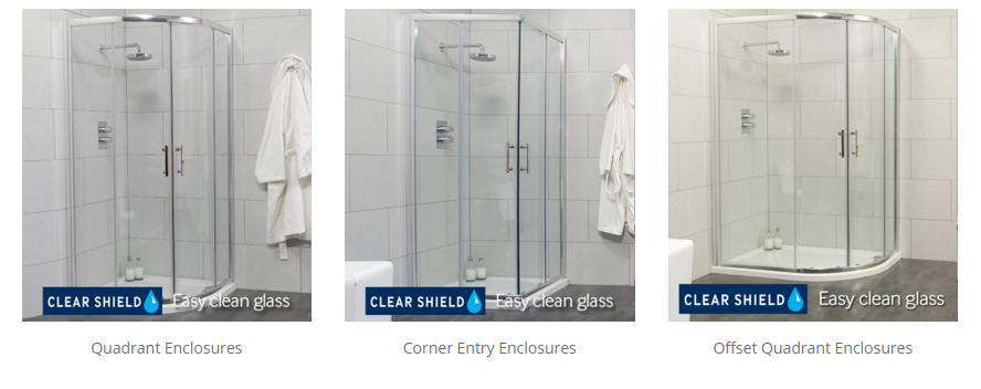 Types of Shower Screen