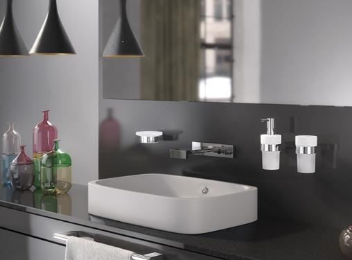 Soap Dispenser and Toothbrush Holder