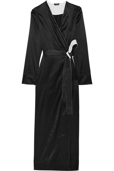 dressing gown la perla