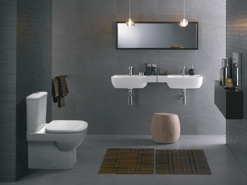 twyford industrial chic bathroom
