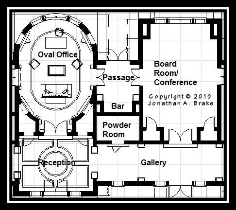 oval office plans