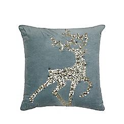 cushion reindeer debenhams