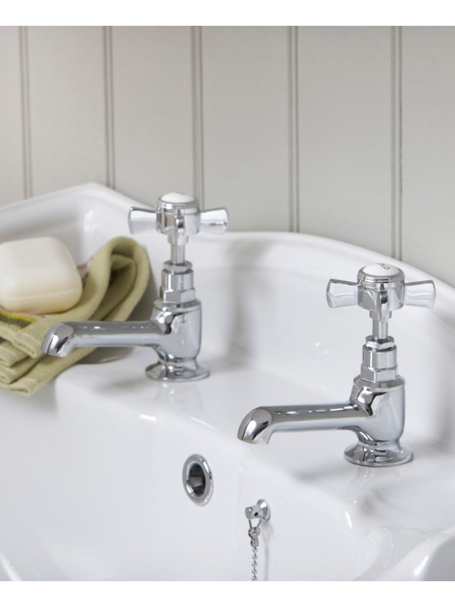 Edwardian basin taps