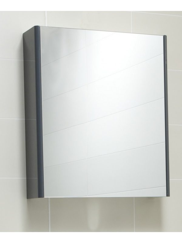 grey bathroom mirror