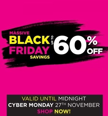 Black Friday - Up to 60% off