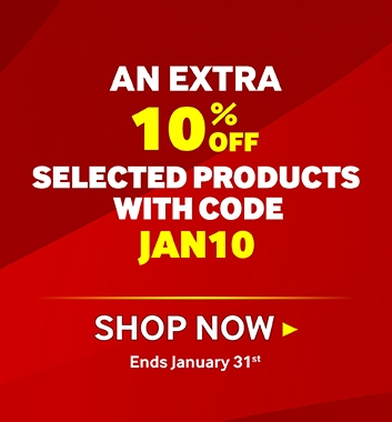 January Sale - Extra 10% Off with JAN10