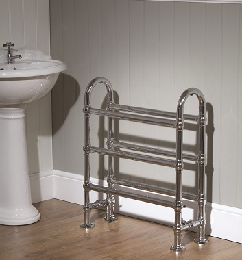 Floor Standing Heated Towel Rails