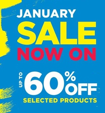 January Sale  - Up to 60% off