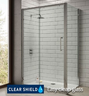 Shower Doors and Side Panel
