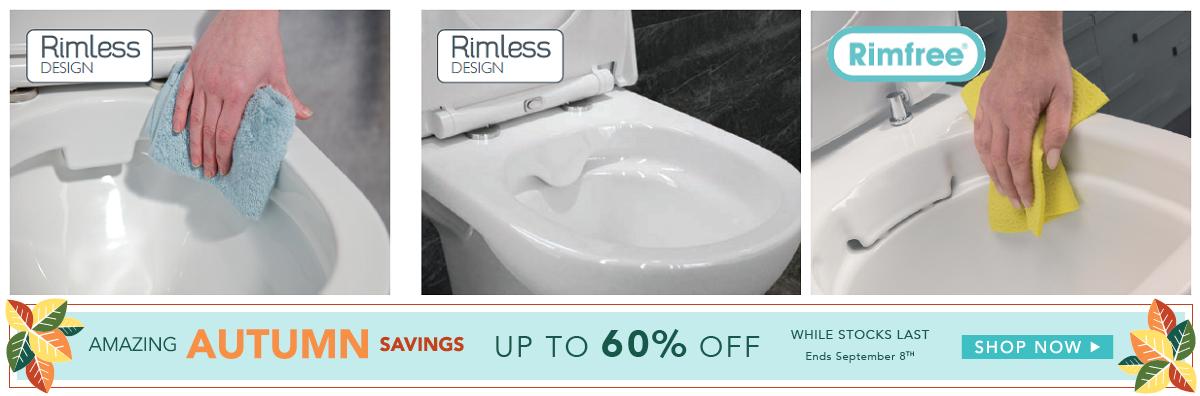RIMLESS Toilets