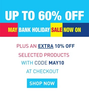 May Bank Holiday Sale