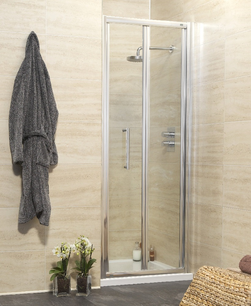 Rival Range 800 Bifold Shower Door - Adjustment 745-800mm
