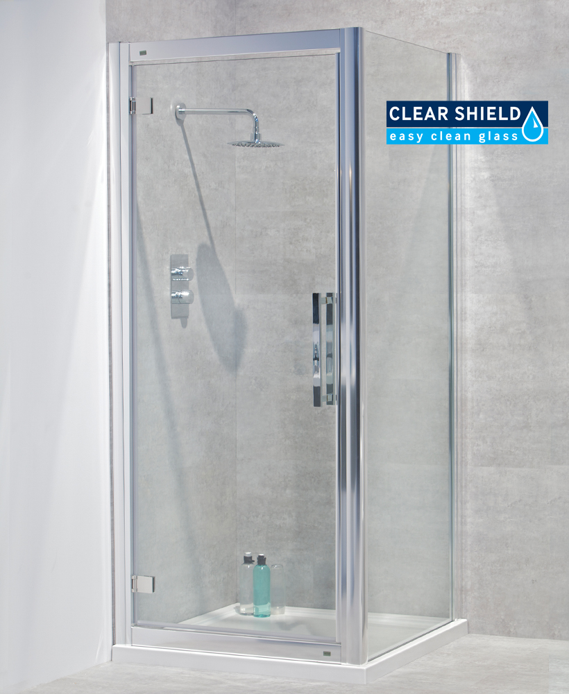 Avante 8mm 700 x 700 Hinged Shower Door