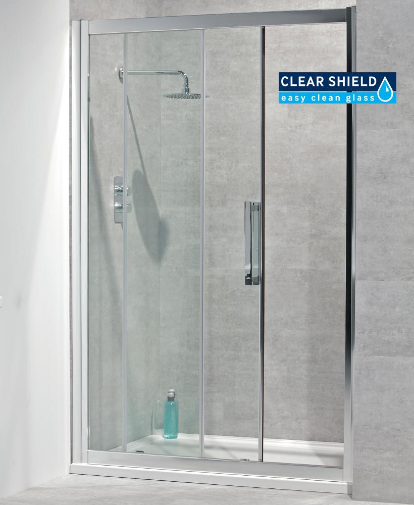 Avante  8mm 1400 x 800 Sliding Shower door
