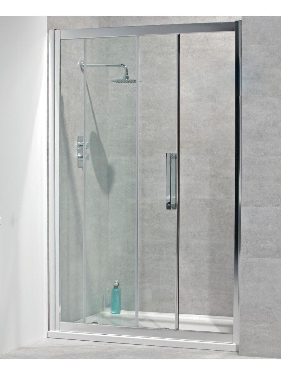 Avante 8mm 1200 Sliding Shower Door - Adjustment 1140-1200mm