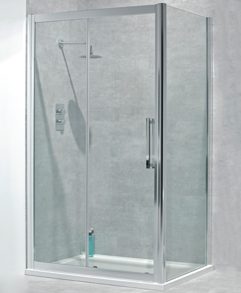 Avante  8mm 1400 x 760 Sliding Shower door