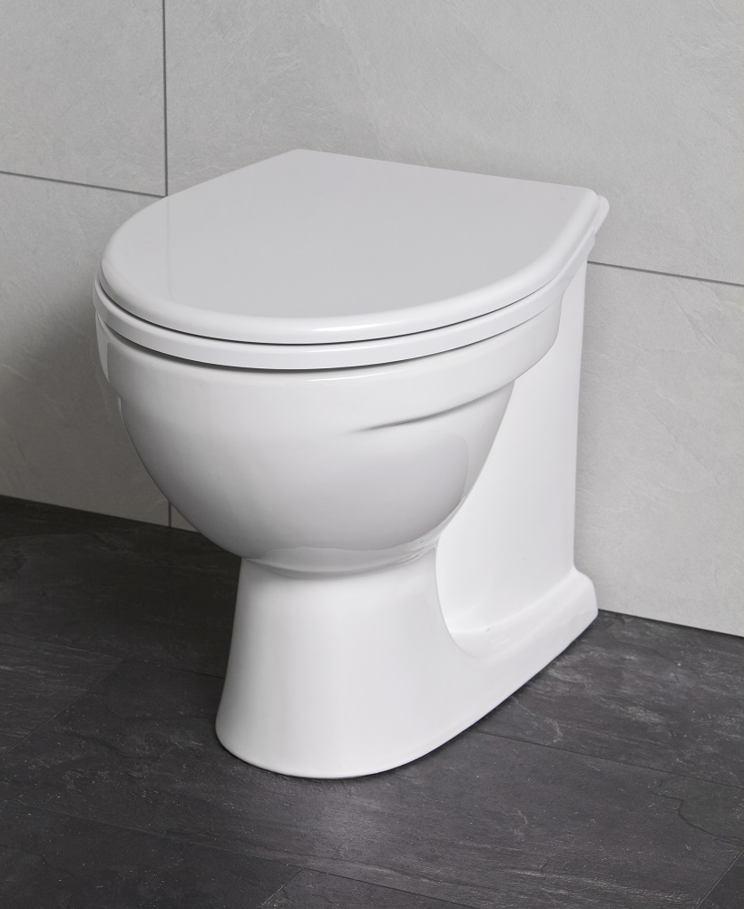 Twyford Alcona Back to Wall Toilet & Seat