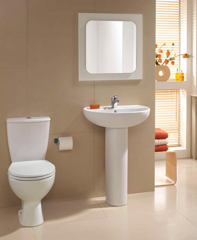 Twyford Alcona Toilet and Wash Basin Set