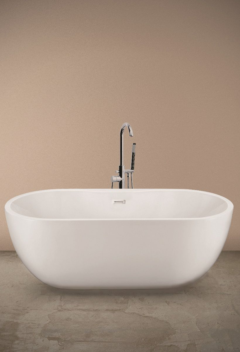 Sarah 1655 x 750 Free Standing Bath
