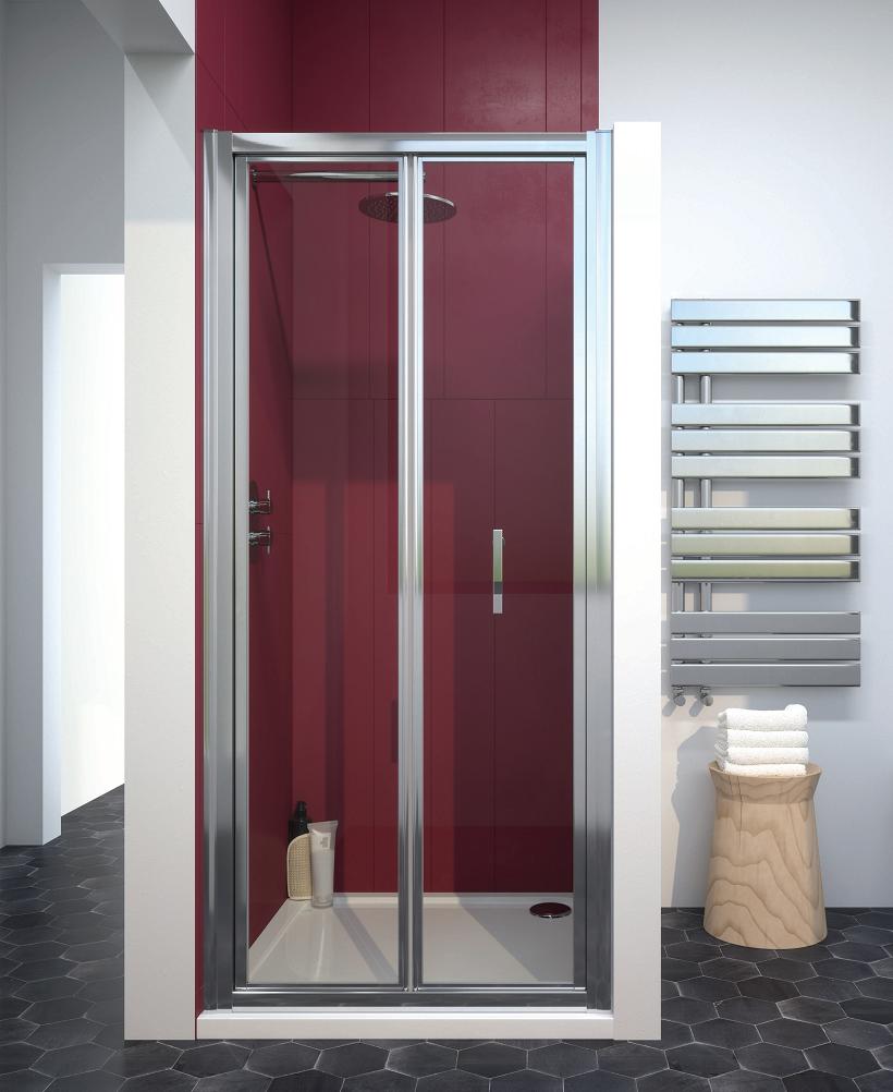 Cello Plus 1000 Bifold Shower Door, Adjustment 940 - 990mm