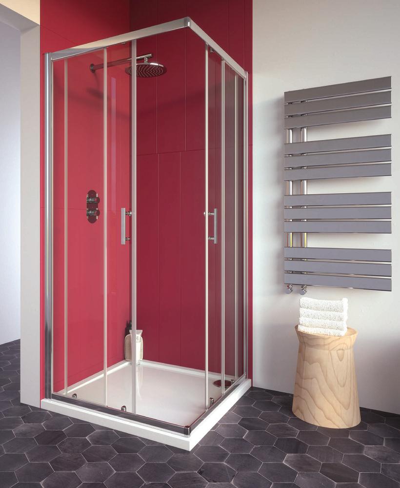Cello Plus 760 Corner Entry Shower Door , Adjustment 725 - 750mm