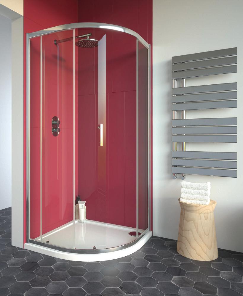 Cello Plus 800 Quadrant Single Door, Adjustment 765 - 790mm