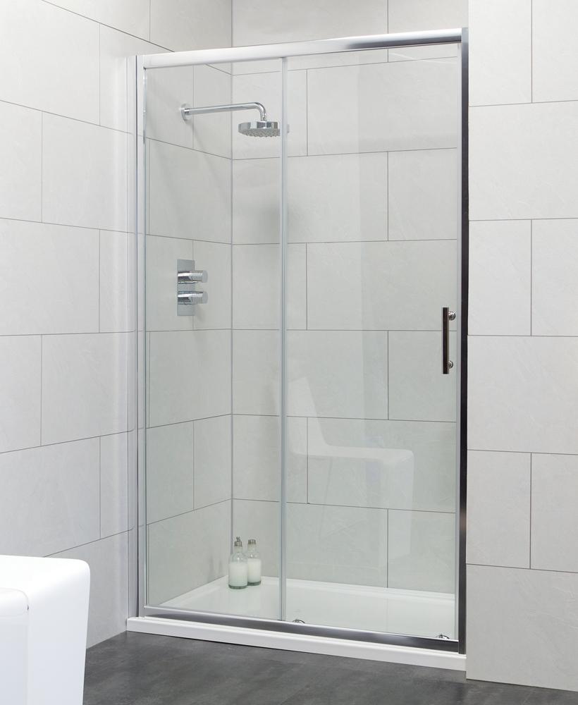 Cello 1100 Sliding Shower Door - Adjustment 1040-1090mm