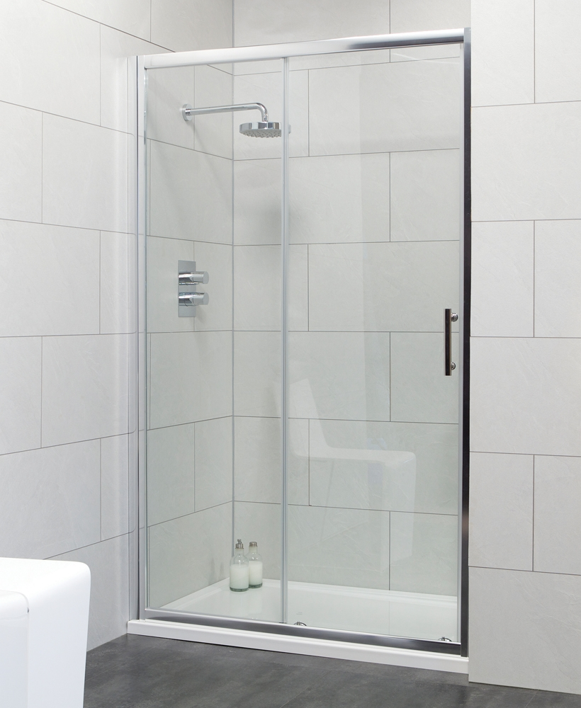 Cello 1200 Sliding Shower Door - Adjustment 1140-1190mm