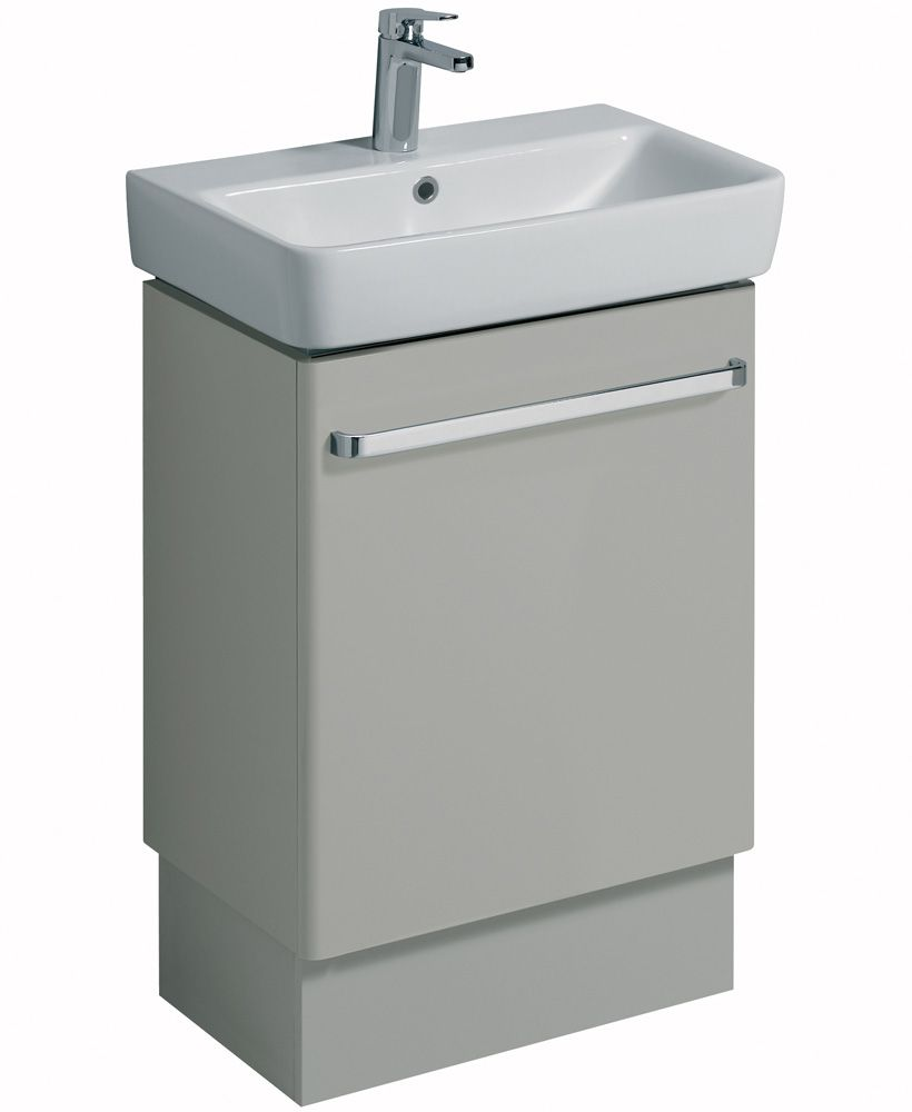 Twyford E200 600 Grey Vanity Unit Floor Standing** an extra 10% off with code EASTER10