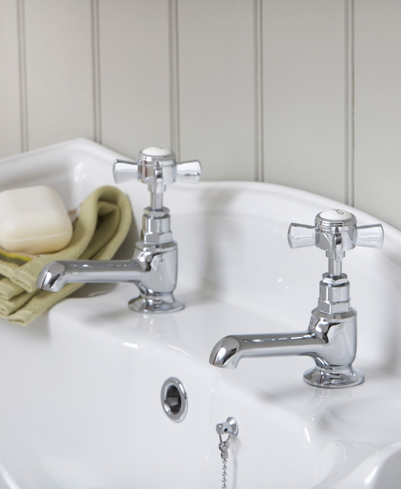 Edwardian Basin Taps - * FURTHER REDUCTIONS