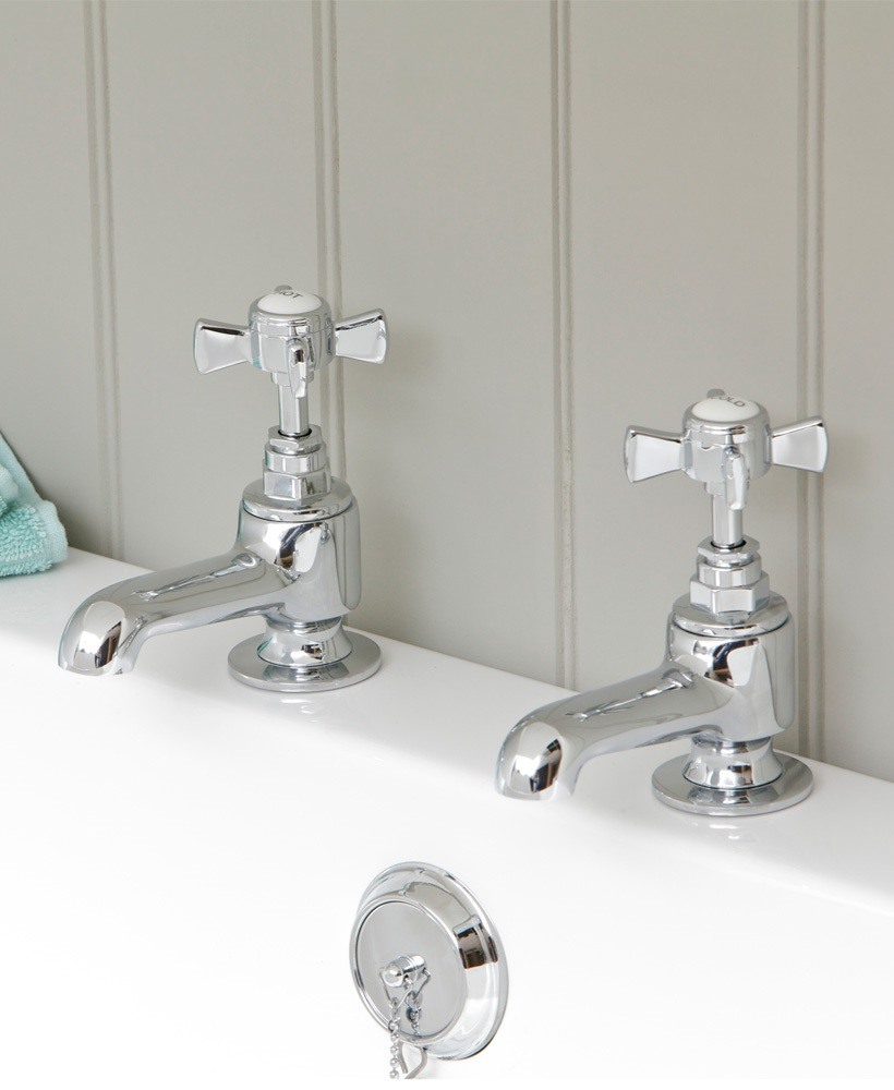 Edwardian Bath Taps - *FURTHER REDUCTIONS