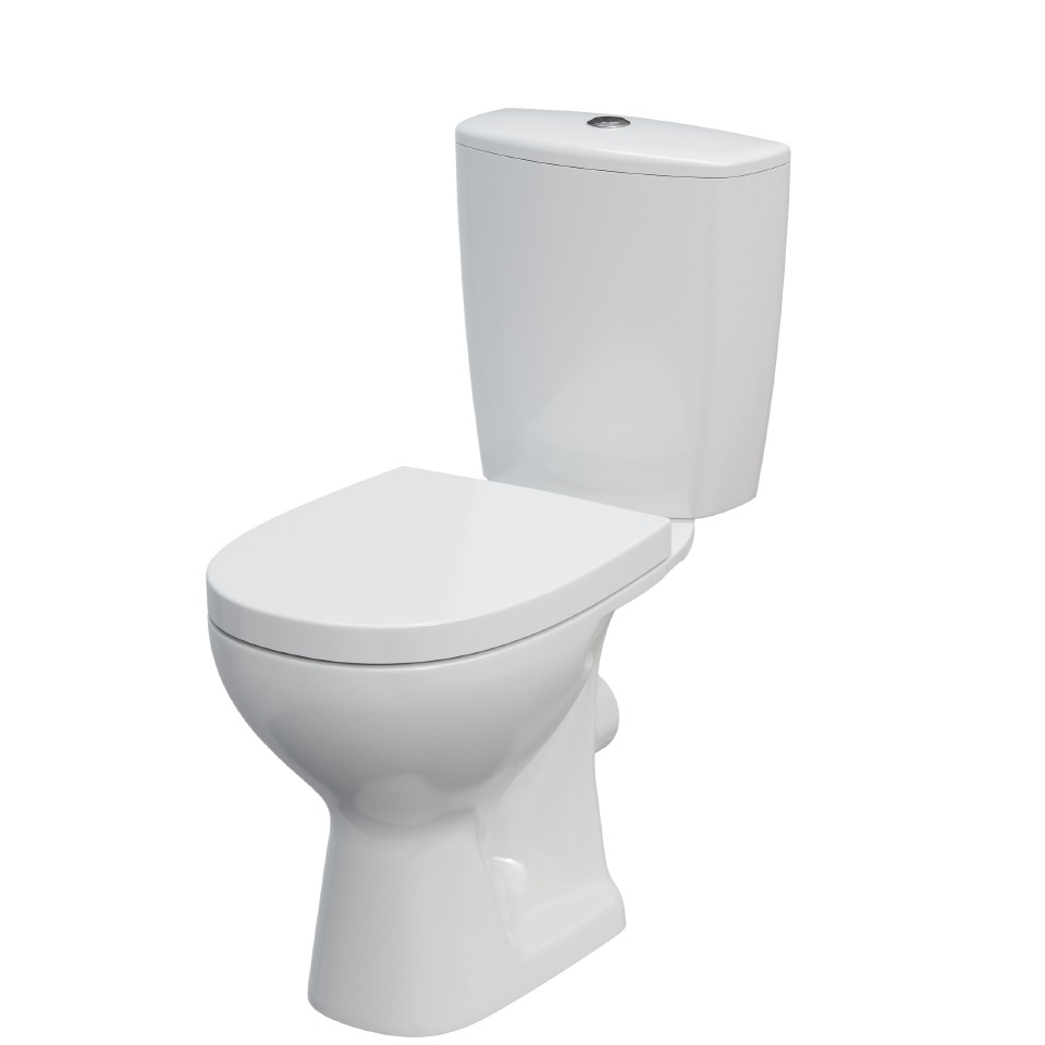 Cairo Close Coupled Toilet and Seat - FURTHER REDUCTION**
