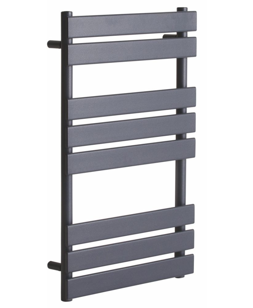 Mason 800 x 500 Heated Towel Rail - Anthracite
