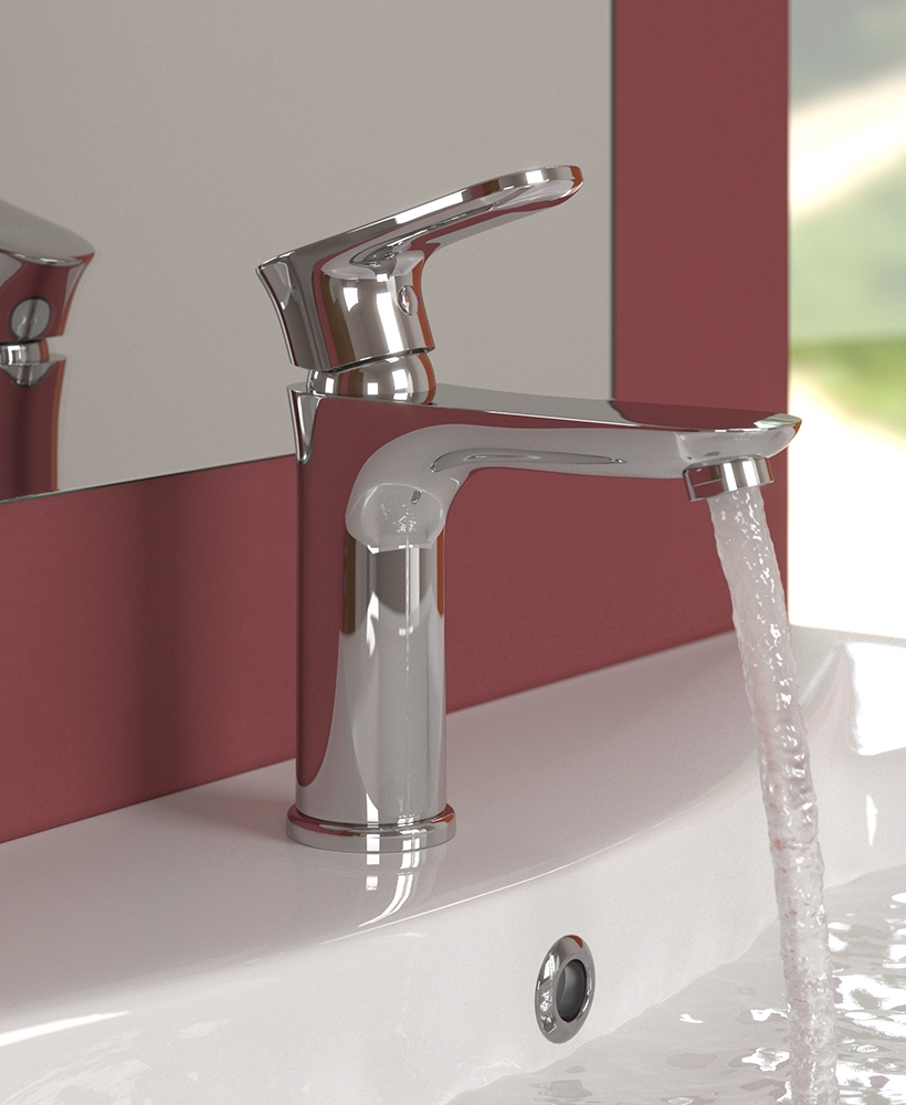 Lincoln Basin Mixer with  FREE Click Clack Waste - *FURTHER REDUCTIONS
