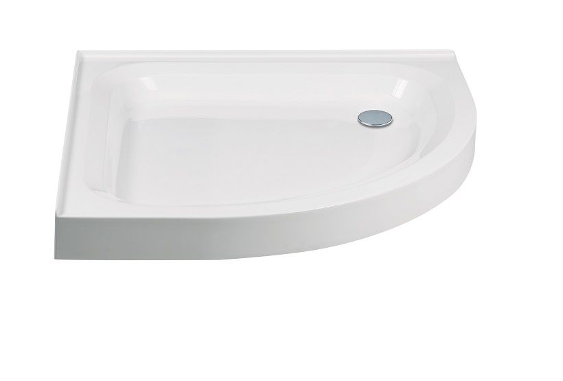 JT Ultracast 900 Quadrant 2 Upstand Shower Tray 550mm Radius