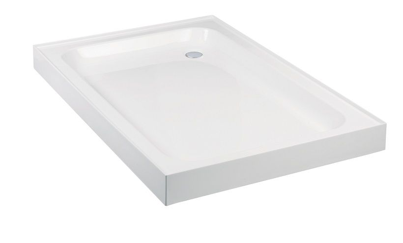 JT Ultracast 900 x 800 Rectangle 4 Upstand Shower Tray