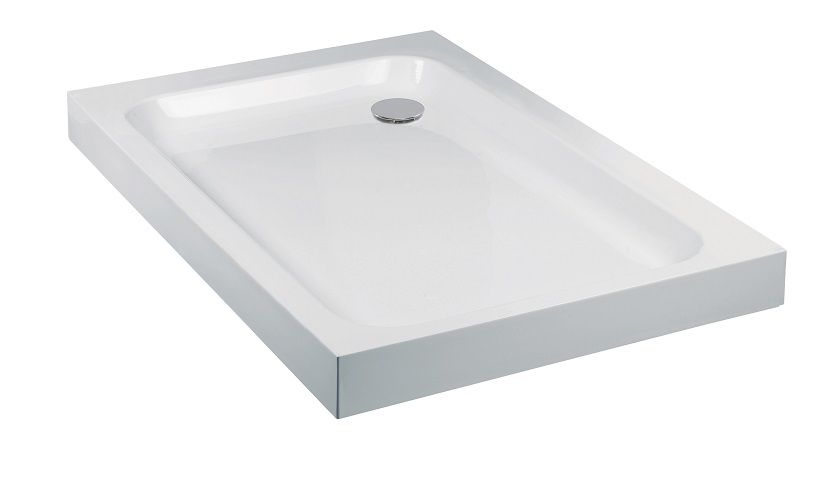 JT Ultracast 800 x 700 Rectangle Shower Tray