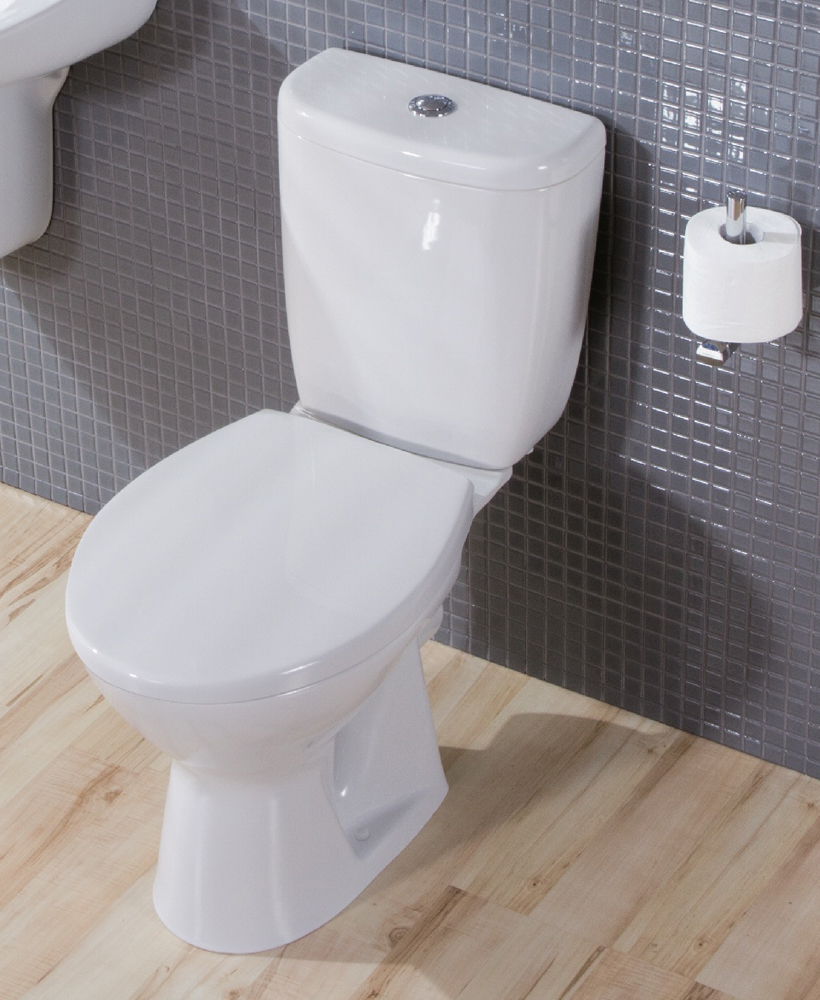 Modena Close Coupled Toilet and Seat with ECO flush ** FURTHER REDUCTIONS
