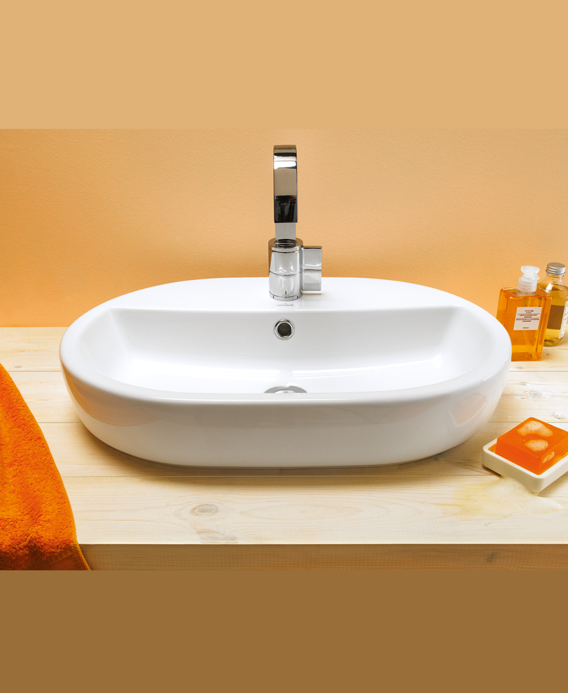 Verona Countertop Basin Oval