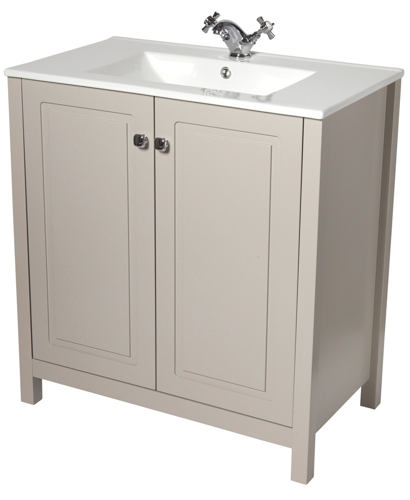 Ashbury Traditional 80 Stone Vanity Unit & Totano Basin