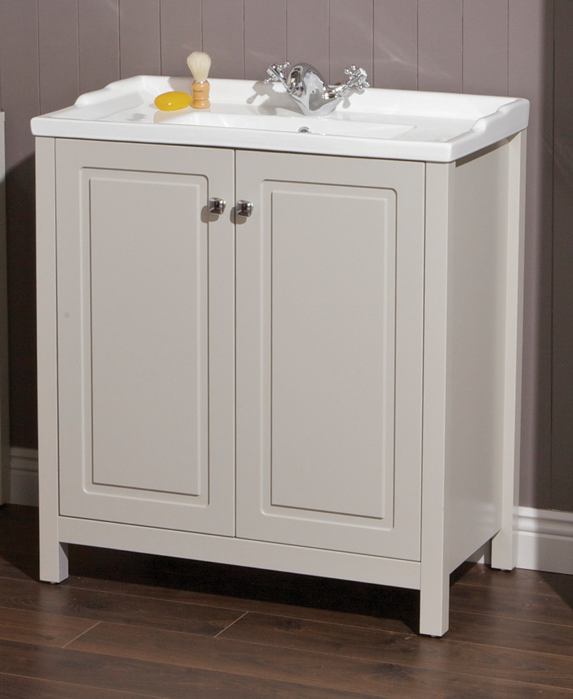 Ashbury Traditional 80 Stone Vanity Unit & Vitaria Basin