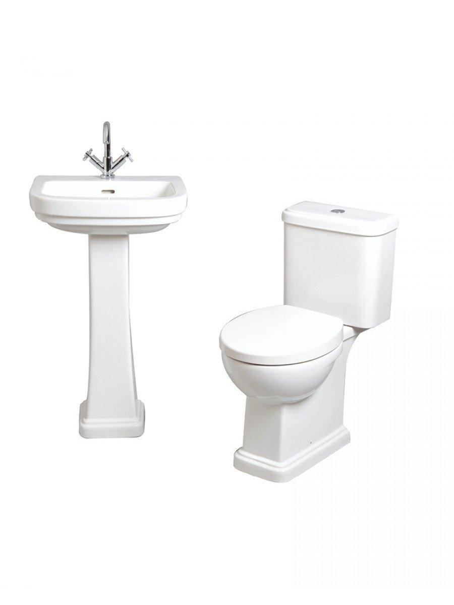 RAK Decor Toilet and Wash Basin Set