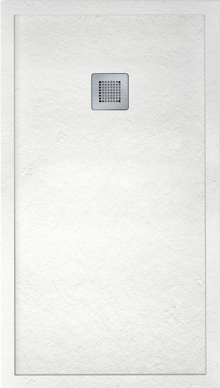 IMPACT 1200 x 800 Shower Tray White - FREE shower waste