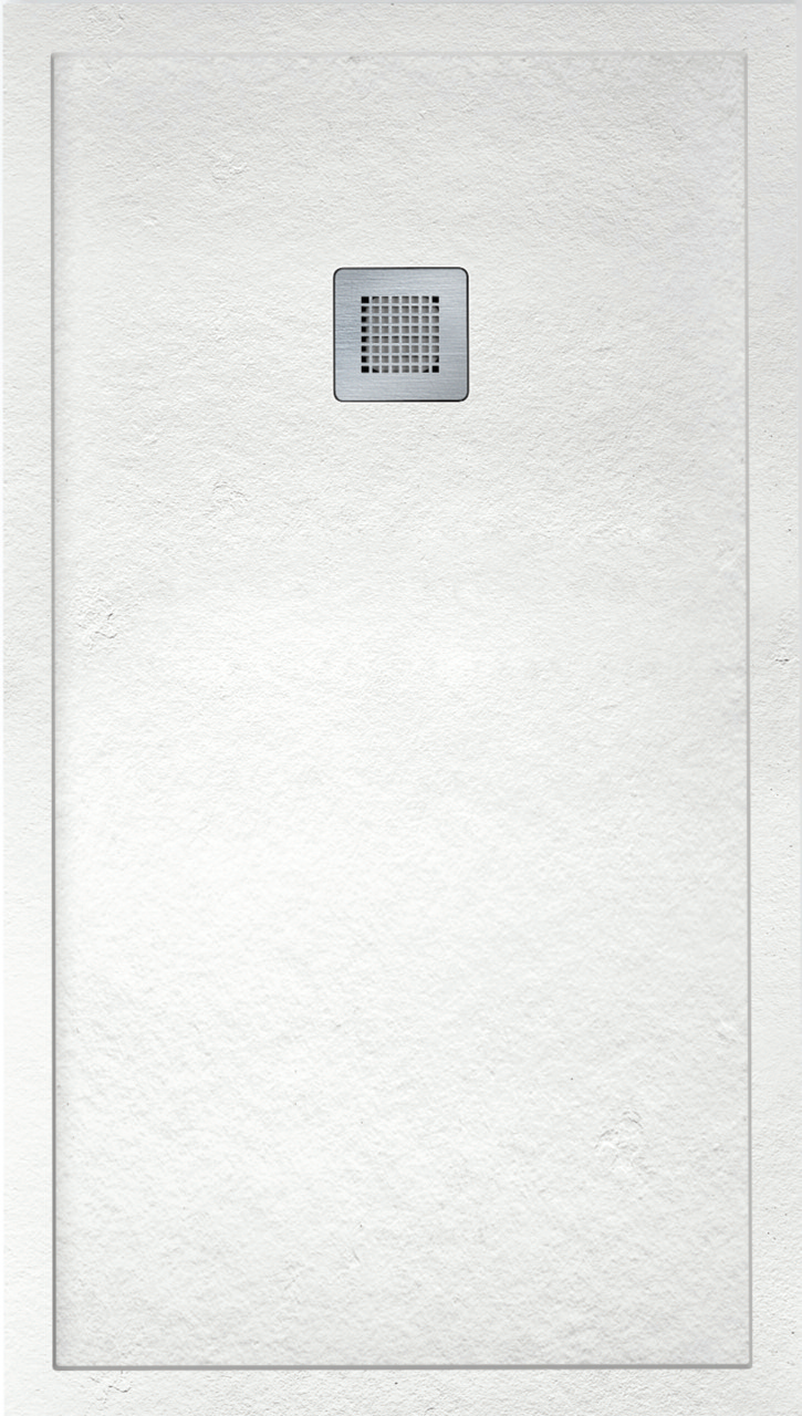 IMPACT 1400 x 900 Shower Tray White - FREE shower waste